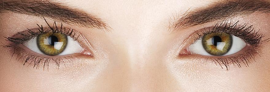 changer de look avec des lentilles de couleur