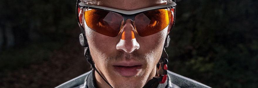 lunette de vélo